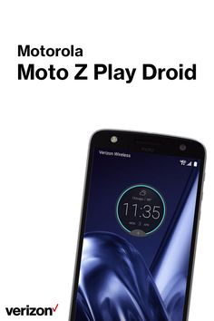 Up your game with the Moto Z Play Droid. Play games, stream video and multitask at the speed of life with the powerful 3GB RAM + 2 GHZ Octa-Core processor. Get yours today on Verizon.