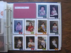 Use Project Life dividers to capture school snapshots through the years