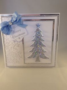 Card made using Stamps by Chloe, and Phill Martin and Chloe's Wow powders
