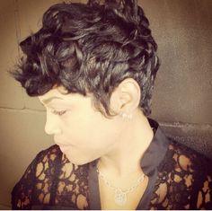 short haircut African American hairstyles