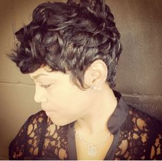 short haircut African American hairstyles