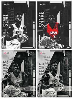 SMU Basketball Spotlights on Behance