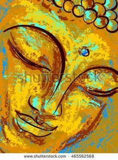 Golden Buddha Stretched Canvas 7940 by Wall Art Prints Golden Buddha Stretched Canvas 7940 by Wall Art Prints Monika Jung origami Over 15000 beautiful canvas art prints in nbsp hellip Painting canvas Buddha Artwork, Buddha Painting, Spiritual Paintings, Canvas Art Prints, Canvas Canvas, Painting Canvas, Yoga Art, Buddhist Art, Art Drawings
