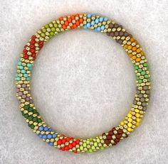 Madrigal Bead Crochet Bracelet