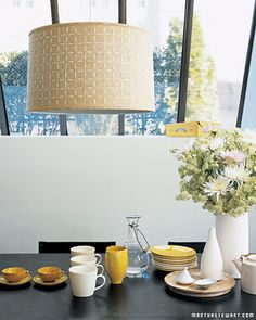 The simplest stitch in sewing -- the running stitch -- is also the most versatile. Usually a child's first lesson in needle and thread, this practical technique can lend a stylish touch to almost any textile in your home.