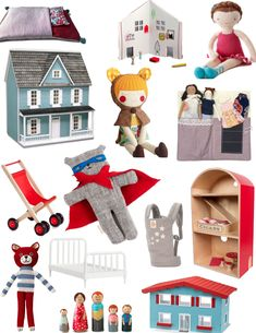 Holiday Gift Guide 2014: Dolls + Dollhouses