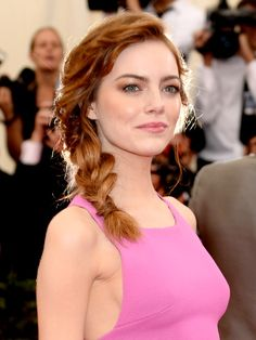 The best beauty looks from the Met Gala 2014: Emma Stone