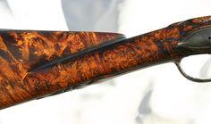 Flintlock Rifle, Rifle Stock, Fine Sand, Custom Guns, Knife Handles, Amber Color, Powder, Woodworking, Carving