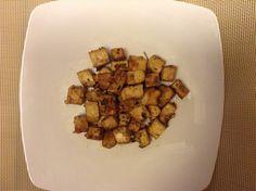Tofu marinato in salsa di soia