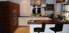 Cozinha funcional com balcão