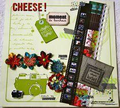 Page de Scrap 30x30 - Cheese