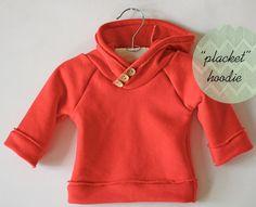 placket hoodie tutorial