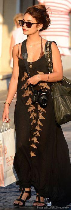 Boho Street Style | Vanessa Hudgens