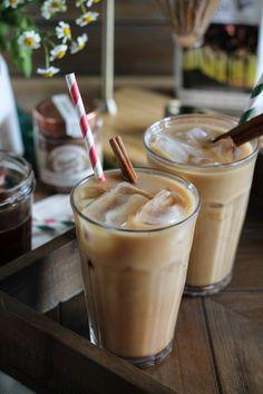 Vanilla Spiced Ice Coffee via The Pendantic Foodie for Cost Plus World Market www.worldmarket.com #WorldMarket Coffee and Tea Time