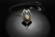 Ascension  - Fine Silver / Labradorite