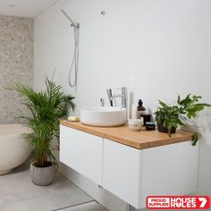 Bamboo Timber Vanity Top 900mm on House Rules 7