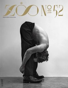 ZOO Magazine 52 - Mads Mikkelsen, one of Europe's biggest stars, in Raf Simons and John Varvatos on this cover, photographed by Bryan Adams.