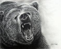 Татуировка медведя гризли