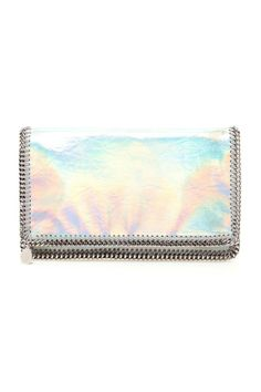 Stella McCartney  Hologram is one of this season's - and next's - buzzwords. Invest into the trend now with this baby Falabella.