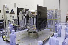 Asteroid Sampling Spacecraft Prepped in NASA Cleanroom
