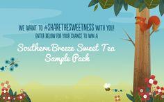 #SHARETHESWEETNESS end of Summer Sampling Campaign