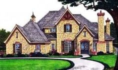 english country style house plans 5500 square foot home 2 story 4 bedroom - 5500 Square Foot House Plans
