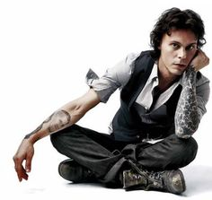 Ville Valo. Good god just let me have your babies already.