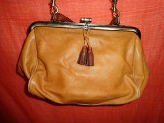 Vintage Handtaschen - Tasche*Vintage*braun*Leder*Ethno* - ein Designerstück von SweetSweetVintage bei DaWanda