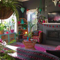 Home Interior Salas .Home Interior Salas Bohemian Room, Bohemian Living, Bohemian Decor, Bohemian Furniture, Bohemian Style, Cheap Home Decor, Diy Home Decor, Estilo Kitsch, Fireplace Remodel