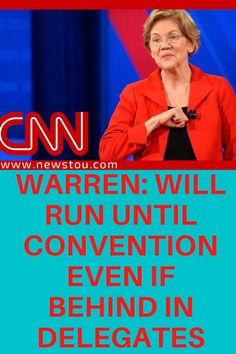 At the CNN Democratic town hall in Charleston, South Carolina, Sen. Elizabeth Warren (D-MA) said that she is ready for a convention floor battle this summer if none of the Democratic candidates reach a delegate majority during the primaries.