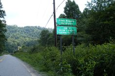 Sign to Glen Rogers WV-my great grandmother lived there.