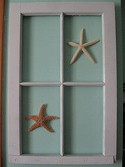 Recycled old window ( another of my DIY projects)