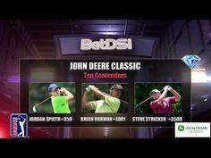 PGA John Deere Classic Odds | Free Golf Picks Golf Picks, Us Open Golf, Golf Events, Golf Betting, Brooks Koepka, Golf Pga, Jordan Spieth, Phil Mickelson, Classic