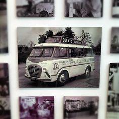 #museo #gelato Pulmino vintage