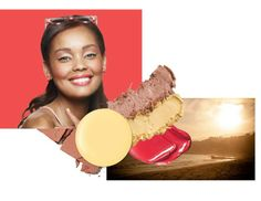 Are you a Sunset Sweetheart? Try this look with the Summer Sunset  Limited-Edition† Mary Kay® Springy Eye Duo, Jet Black Gel Eyeliner, Ultimate Mascara™, Sparkling Cider Mineral Cheek Color, Cherry Twist Limited-Edition† Mary Kay® Lip Gel and Lemon Parfait Limited-Edition† Mary Kay® Nail Lacquer. #HelloSunshine