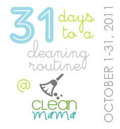 31 days to a clean routine