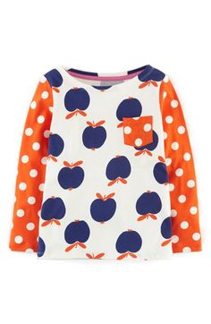 Mini Boden Hotchpotch Tee (Toddler Girls, Little Girls & Big Girls) available at #Nordstrom