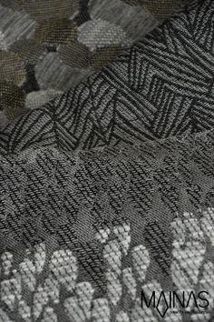 Mainas – KH Annala kutoo MAINAS-messuosastolle tyylikkään hiilenharmaita verhoilukankaita. #habitare2014 #design #sisustus #messut #helsinki #messukeskus