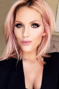 Breathtaking Rose Gold Hair Ideas You Will Fall in Love With Instantly ★ See more: http://glaminati.com/rose-gold-hair/