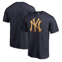 New York Yankees Fanatics Branded Slugger T-Shirt - Navy