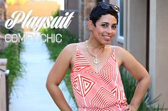 What I Wore: Forever 21 Playsuit   DIY Option