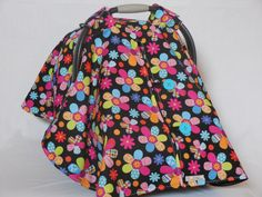 Baby car seat cover/canopy by SewCuteNanna on Etsy https://www.etsy.com/listing/250862845/baby-car-seat-covercanopy