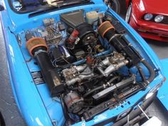 SAAB V4  The 1850 cc motor was built by SAAB engine guru Bengt-Erik Strom is good for 145-150BHP.