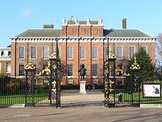 Kensington Palace is a royal residence set in Kensington Gardens in the Royal Borough of Kensington and Chelsea in London, England. It has been a residence of the British Royal Family since the 17th century. 2011