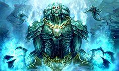 Warcraft Fan Art Gallery - Neptulon The Tidehunter