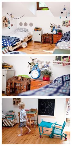 kids room: colourful