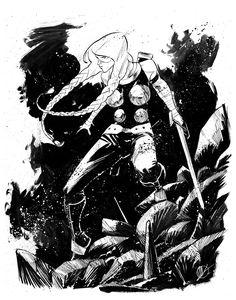 Sketch 381 - Baltimore Comic Con by *MatteoScalera on deviantART