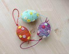 Пасхальные яйца декоративные в ассортименте – купить в интернет-магазине на Ярмарке Мастеров с доставкой - FDI99RU