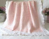 Crochet PATTERN 41 - Angel Series - Crochet Baby Blanket Pattern 41 - Crochet Symbol Pattern - Instant Download PDF