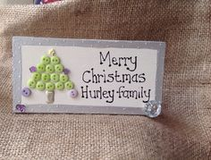 This year I have designed some plaques for my friends, I am giving these, as a substitute for a paper card